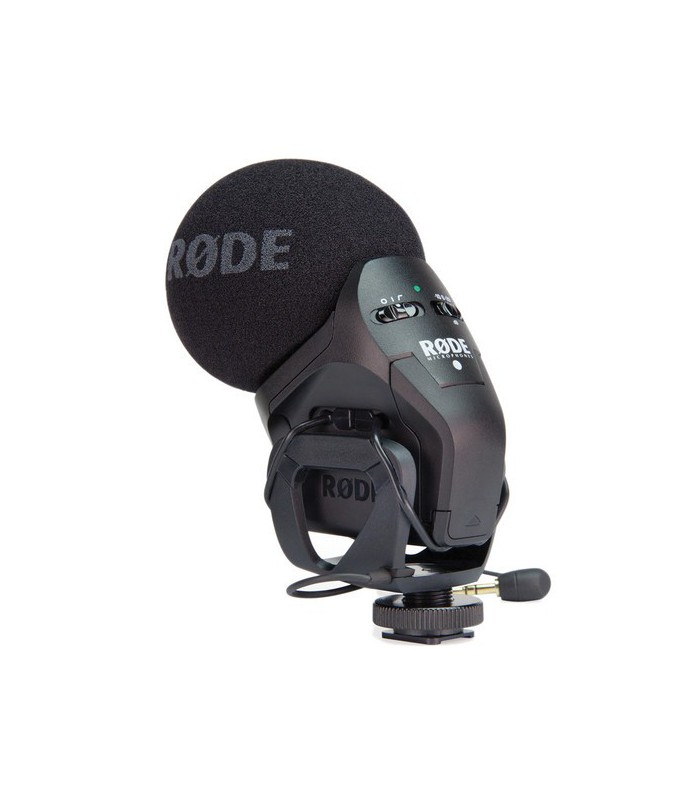 Rode Stereo VideoMic Pro Camera-Mounted Stereo Microphone