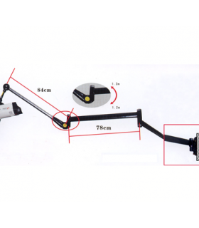 S&S Medium Wall-Mounted Arm OB-32