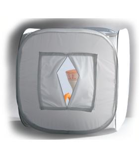 S&S 120x120x120cm White Photographic Tent