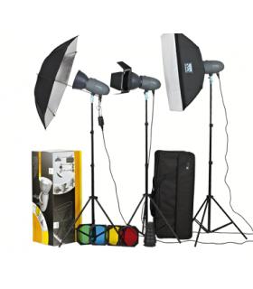 S&S by Visico 300J Studio Flash Kit VT-300