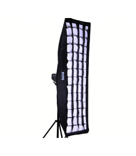 S&S 22x90cm Softbox with Grid