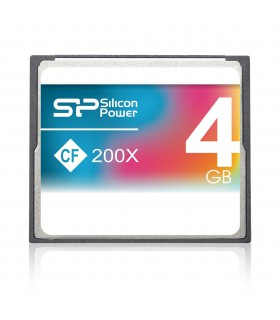 Silicon Power 4GB 200X Compact Flash