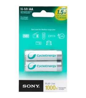 Sony Rechargable Battery 2xAA