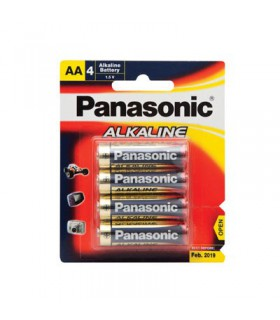 Panasonic Alkaline Battery 4xAA