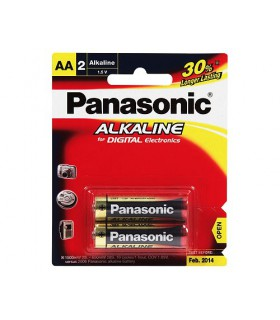Panasonic Alkaline Battery 2xAA