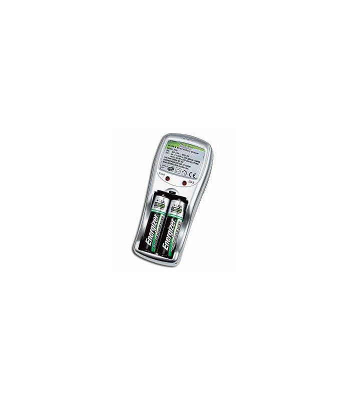 Energizer Compact Charger with 4xAA 2450mAh