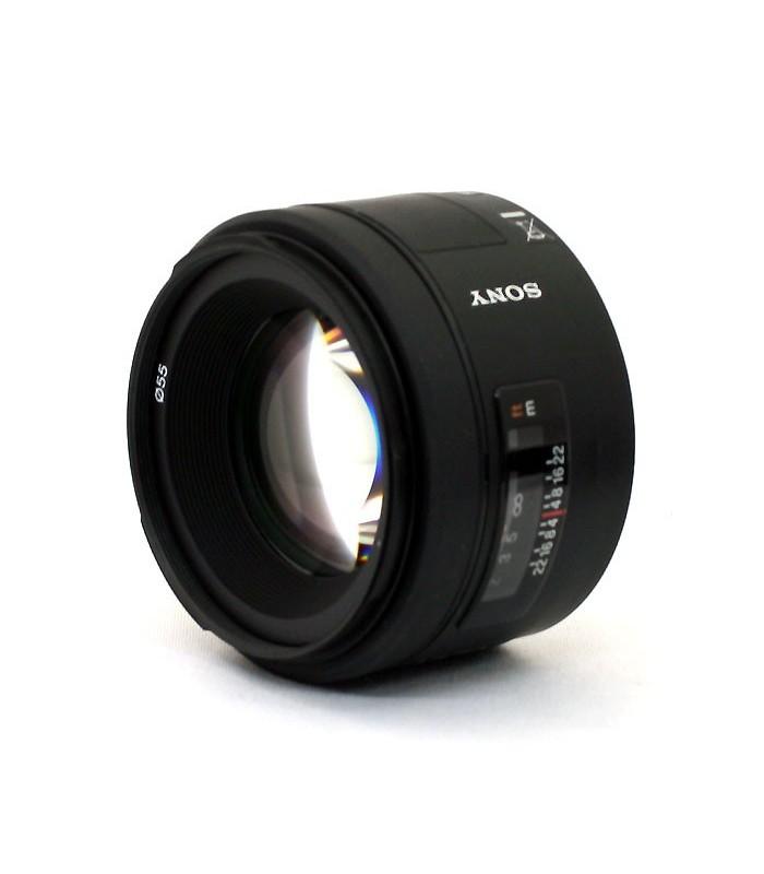 Sony 50mm f/1.4 Prime Lens