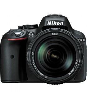 Nikon D5300 + 18-140mm