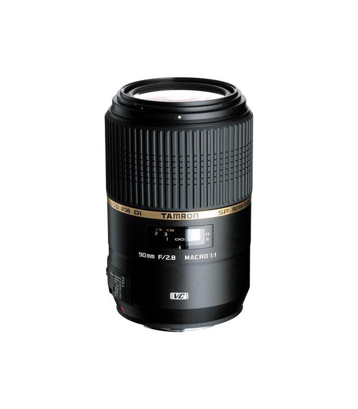 Tamron SP 90mm f/2.8 Di MACRO 1:1 VC USD - Canon Mount