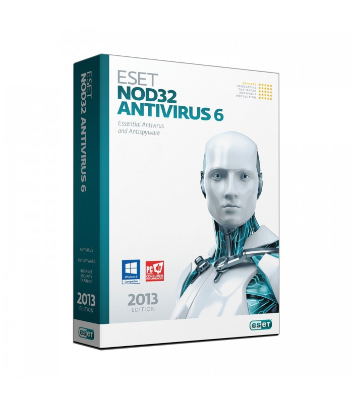 ESET NOD32 Antivirus 6 - 1PC