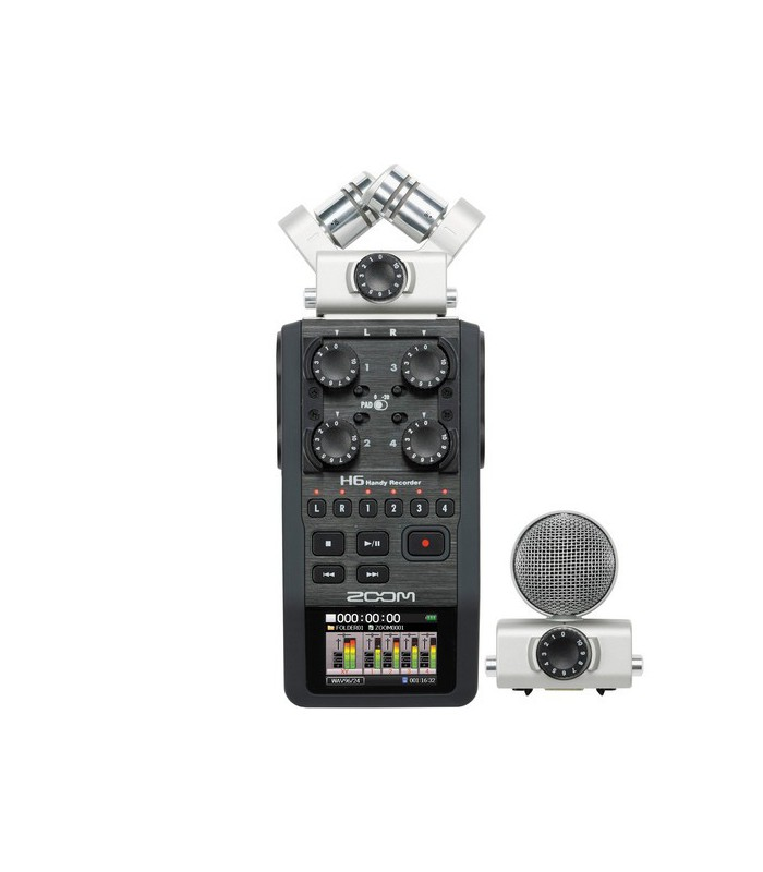 | Zoom H6 Handy Recorder