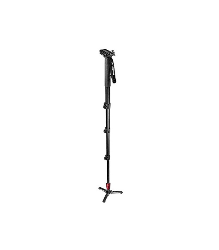Manfrotto Fluid Aluminium Video Monopod with Plate 562B