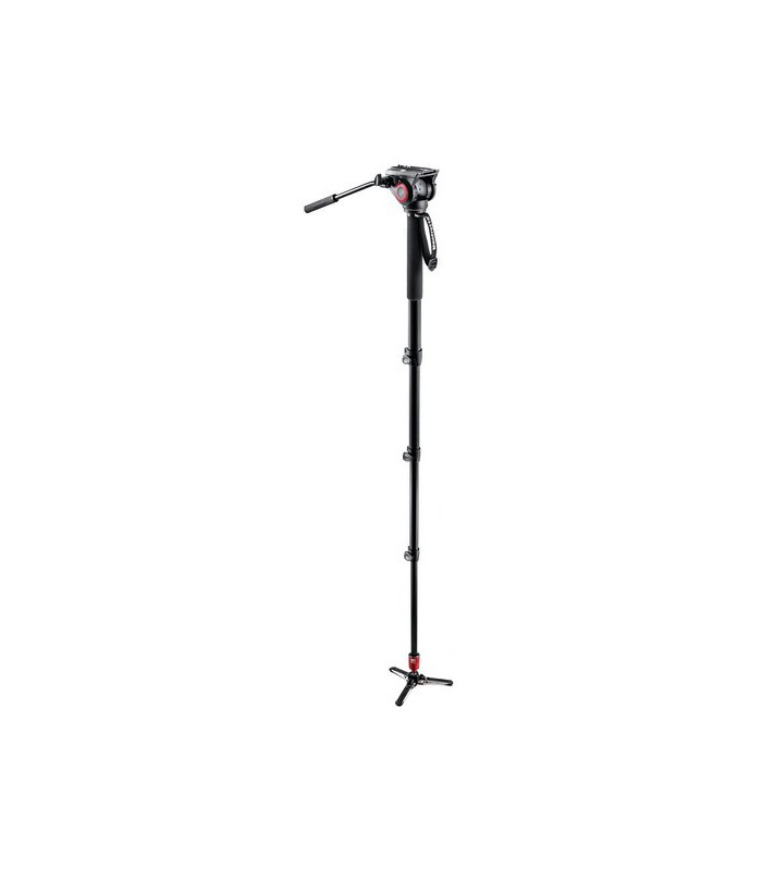 Manfrotto Aluminum Fluid Monopod with 500 Head MVM500A