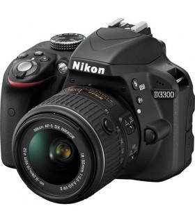 Nikon D3300 + 18-55