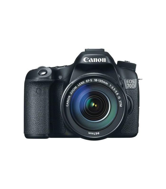 Canon EOS 70D + 18-135 STM