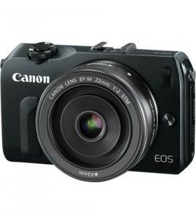 Canon EOS M Body + 22mm + 18-55 STM + 90EX