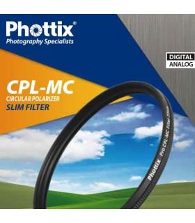 Phottix فیلتر پولاریزه ی باریک چندلایه با دهانه ی72mm