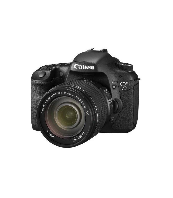 Canon EOS 7D + 15-85