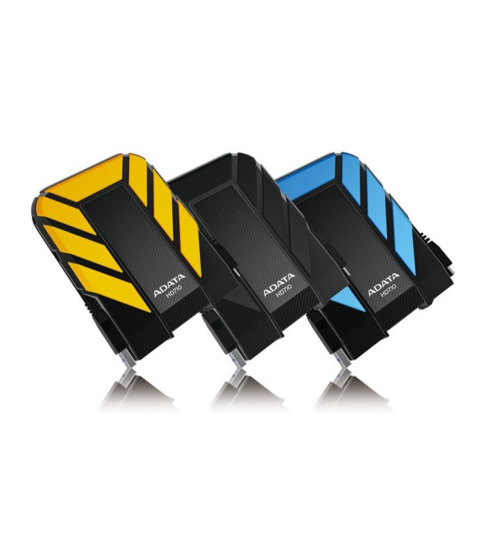 ADATA DashDrive™ Durable HD710 Waterproof/Shock-Resistant USB 3.0 External Hard Drive 1TB