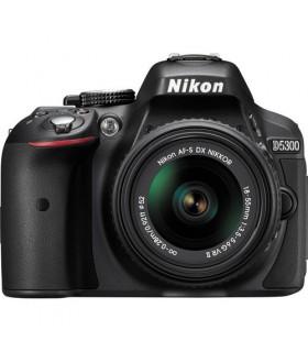 Nikon D5300 + 18-55