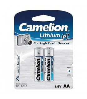 Camelion Battery Lithium P7 2XAA FR6-BP2