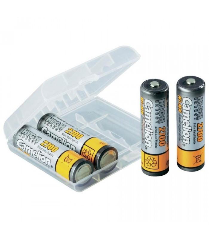 Camelion Ni-MH Batteries for Long Life Rechargeable 2700mAh 2XAA