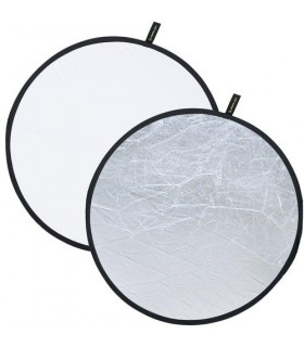 "Creative Light 48"" White/Silver Reflector 100843"