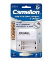 Camelion Dual USB Power Adapter & Charger BC-1005A