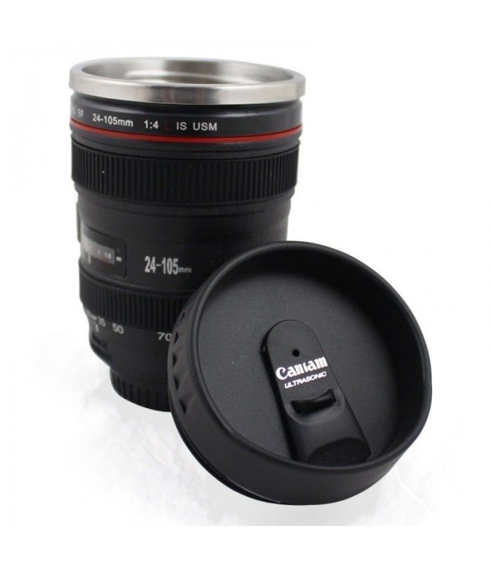 Caniam Mug EF 24-105mm f4L IS USM with Plastic Lens Cap