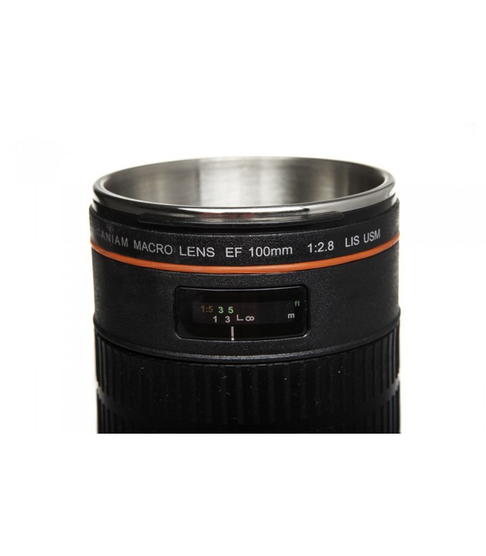 Caniam Mug EF 100mm f2.8L Macro IS USM with Lens Hood