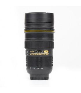 Nican Mug AF-S NIKKOR 24-70mm f2.8G ED with Clear Lens Cap