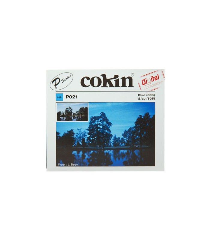 Cokin P Series 80B Color Conversion Resin Filter P021