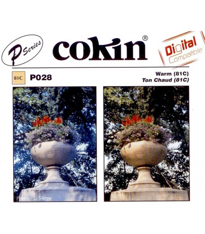 Cokin P Series 81C Color Conversion Resin Filter P028
