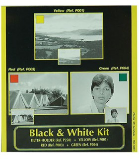 Cokin P Series Black and White Filter Kit H220A