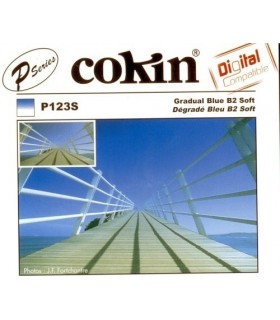 Cokin P Series Graduated B2 Blue Soft Edge Resin Filter P123S