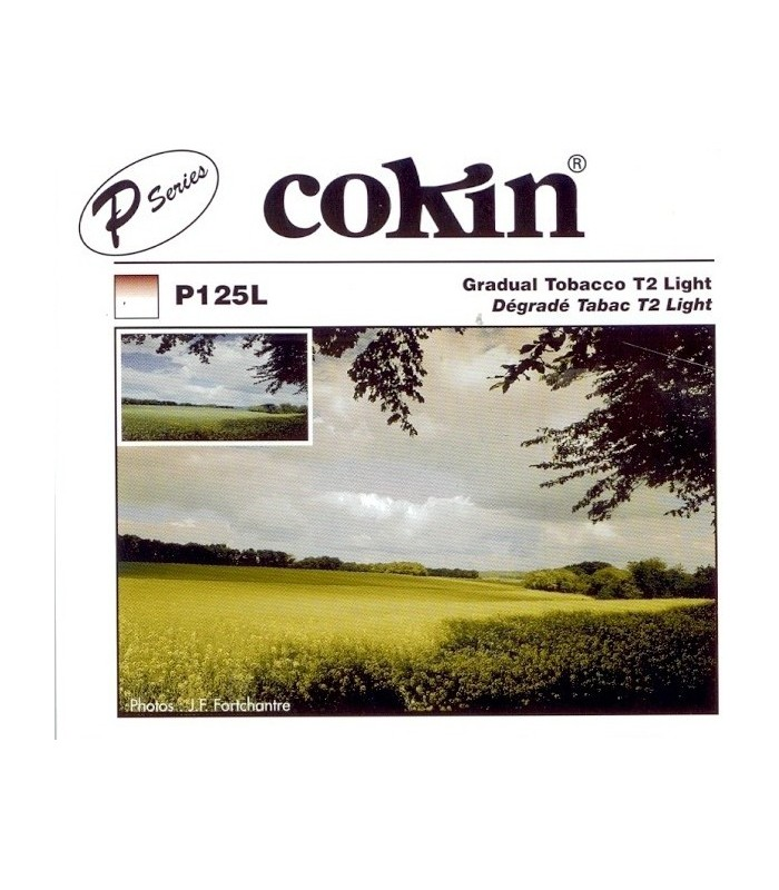 Cokin P Series Graduated T2 Light Tobacco Resin Filter P125L