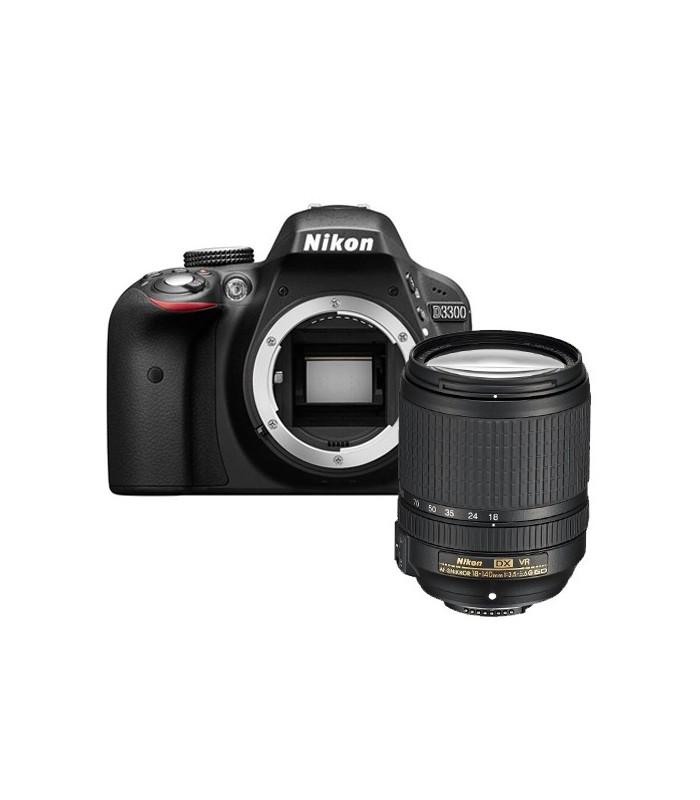 Nikon D3300 + 18-140 VR