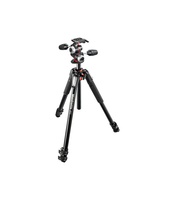 Manfrotto MK055XPRO3-3W Aluminum Tripod with 3-Way PanTilt Head