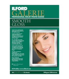 Ilford Galerie Smooth Gloss Paper (A3 - 25 Sheets)