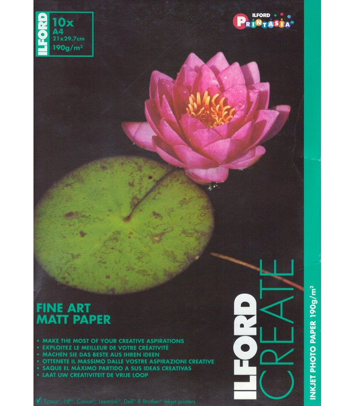 Ilford Create Fine Art Matt Paper (A4 - 10 Sheets)