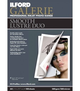 Ilford Galerie Smooth Lustre Duo Paper (A4 - 25 Sheets)