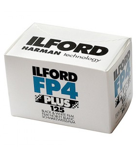 Ilford FP4 Plus 135-36 Black & White Negative (Print) Film (ISO-125)