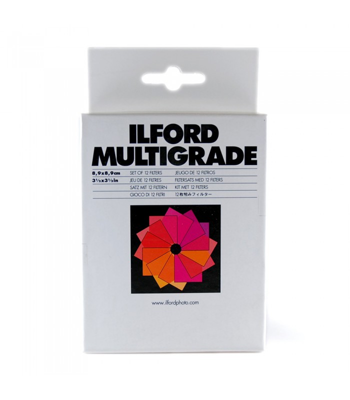 Ilford Multigrade Filter Set 3.5x3.5