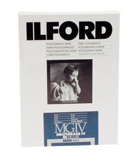 Ilford Multigrade IV RC Deluxe 44M Black & White Variable Contrast Paper (30.5 x 40.6 cm, Pearl, 10 Sheets)