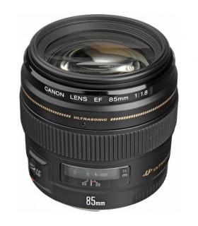 لنز دست دوم کانن مدل EF 85mm f/1.8 USM