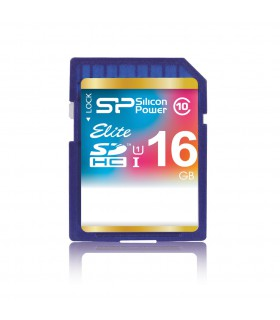 Silicon Power 16GB SDHC Elite UHS-I Class 10