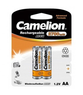 Camelion Rechargable ACCU 2700 mAh 2XAA NH-AA2700BP2