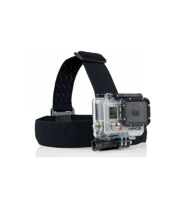 Shark Gadget Elastic Adjustable Head Strap For GoPro - GP23