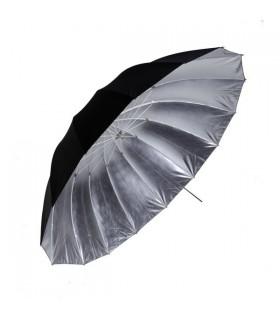 Phottix چتر گود بازتابنده با سطح داخلی نقره ای و سطح بیرونی سیاه 152 سانتی متر