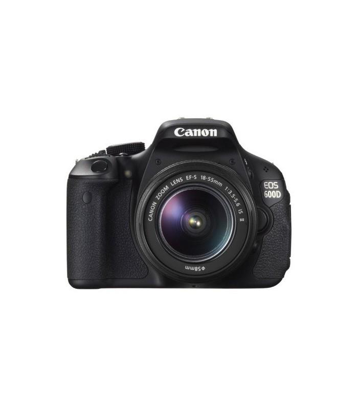 دوربین دست دوم کانن مدل EOS 600D + 18-55mm III
